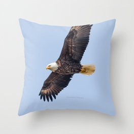 May Soaring Eagle Throw Pillow