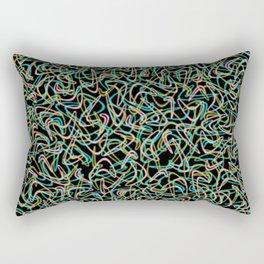 Boomerang Neon Rectangular Pillow