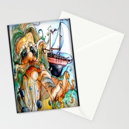 Old Man & The Sea  Stationery Cards