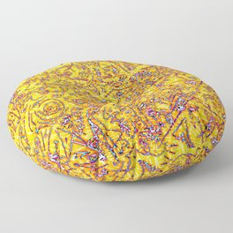 Raspberry Lemonade Floor Pillow