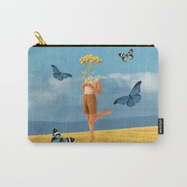 Summer print Carry-All Pouch
