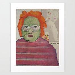 Bitter Brittney Art Print