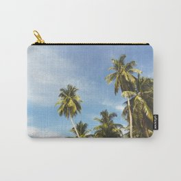 Palms Trees on the San Blas Islands, Panama Carry-All Pouch