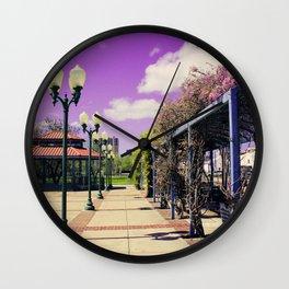 Train Station! Wall Clock
