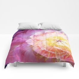 Peony Abstractions Comforters