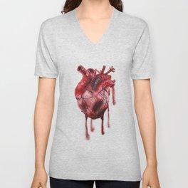 Heart Beat Unisex V-Neck