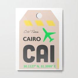 Cairo airport Metal Print