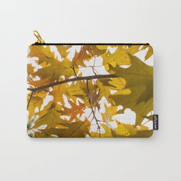 Golden oak leaves Carry-All Pouch