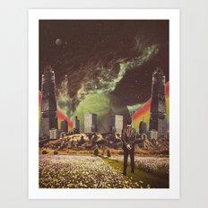 Brave New Worlds Art Print