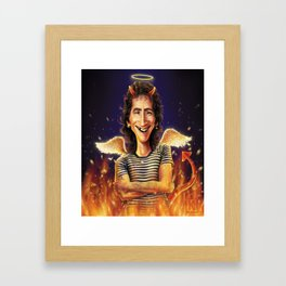 Bon Scott Framed Art Print