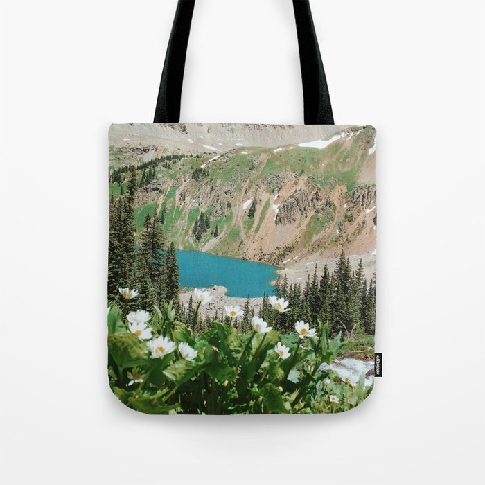 The Blue Lakes of Colorado Tote Bag