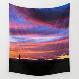 South Santa Fe Sunset Wall Tapestry