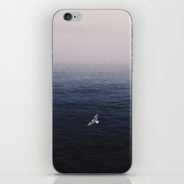 Foggy waters iPhone Skin