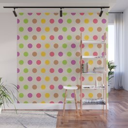 dotted Wall Mural