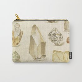 Quartz Crystals Carry-All Pouch
