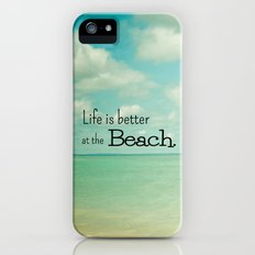 Life is Better at the Beach Slim Case iPhone (5, 5s)