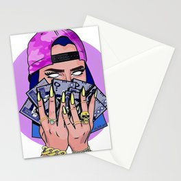 BAD--GIRL Stationery Cards