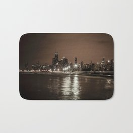 Chicago Nights Bath Mat