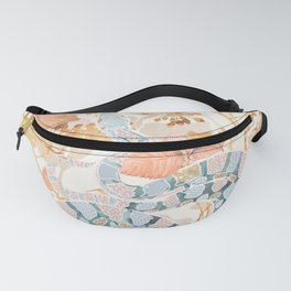 Coral Spring Garden Fanny Pack