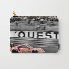 Pink Pig German Sports Motor Car Le Mans 2018 Carry-All Pouch