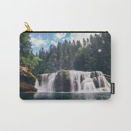 Lower Lewis River Falls Carry-All Pouch