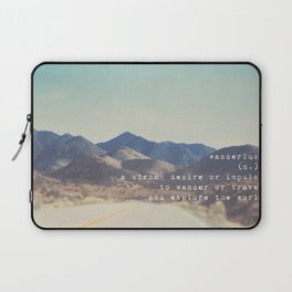 wanderlust ... Laptop Sleeve