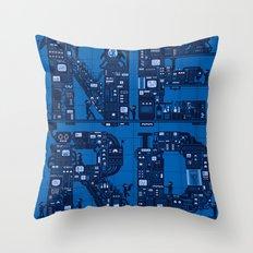 NERD HQ Throw Pillow