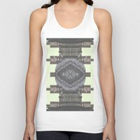 navajo Tank Tops featuring Architecture navajo by Moriarty