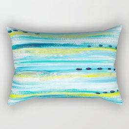 Blue Wave Rectangular Pillow