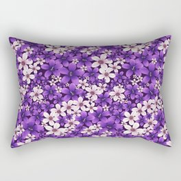 Ultra Violet Spring Rectangular Pillow