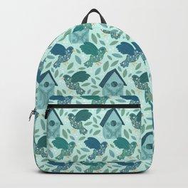 Floral Birds Backpack