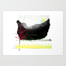 2063 – Vacancy Art Print
