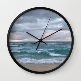 horizon in paradise Wall Clock