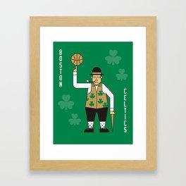 Boston NBA Celtics Framed Art Print