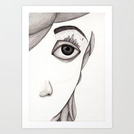 City-eye Art Print