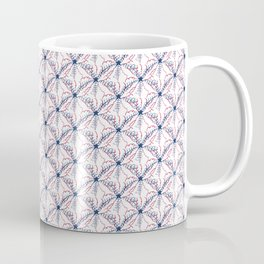 Star-Spangled Pattern Coffee Mug