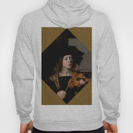 """Frans Hals """"The violinist"""" Hoody"""