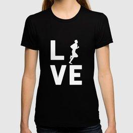 RUNNING LOVE - Graphic Shirt T-shirt