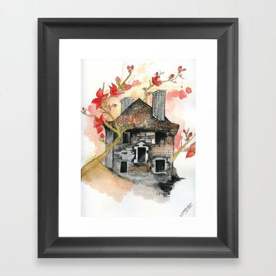 French Barn Framed Art Print