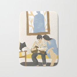 You and me and the music Bath Mat