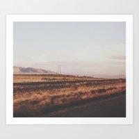 utah Art Prints featuring Utah by Maulina H.