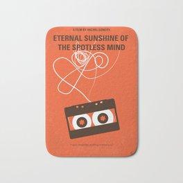 No384 My Eternal Sunshine of the Spotless Mind minimal movie poster Bath Mat