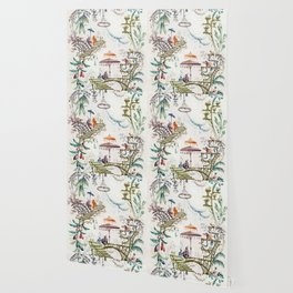 Enchanted Forest Chinoiserie Wallpaper