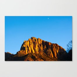 The Watchman. Zion National Park. Utah. USA Canvas Print