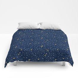 Stars and Comets Comforters