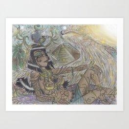 Goddess Isis Art Print