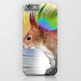 Mr. Squirrel iPhone Case