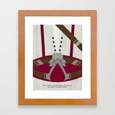 Video Game Poster: Assassin Framed Art Print