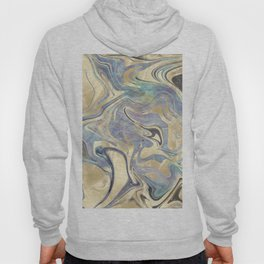 Liquid Gold Mermaid Sea Marble Hoody