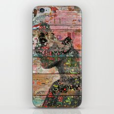 Inner Nature (Profile of Woman) iPhone Skin